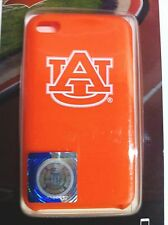 Officially Licensed Auburn University Silicone Gel Cover For Ipod Touch 4G New