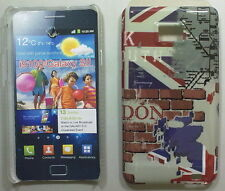 COVER CUSTODIA SAMSUNG GALAXY S II I9100 CARTOLINA LONDON