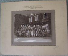 WW2 ARP photograph Civilian Anti-Gas School Eastwood Park Falfield Gloucester