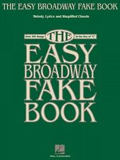 The Easy Broadway Fake Book Sheet Music Easy Fake Book NEW 000240180