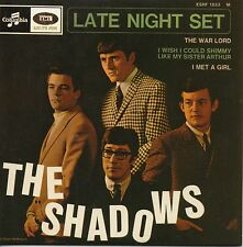 CD Single The SHADOWS Late Night Set - EP REPLICA - 4-track CARDSL   + VERY RARE