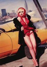 More details for blondie debbie harry poster red suspenders