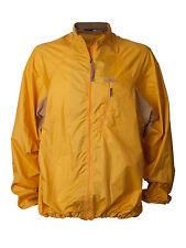 Men's Patagonia Windbreaker Jacket Full Zip Houdini Gold Outdoors Nylon Vtg M