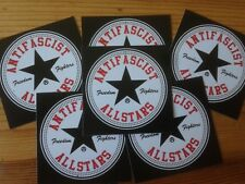 1000 antifascist Allstars autocollant stickers punk antinazi contre nazis antifa