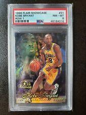 1996 Flair Showcase Kobe Bryant Row 1 #31 Rookie NM-MT PSA 8