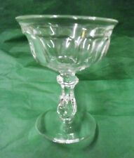"""Heisey 'Colonial' Stem 373-341, Champagne 4 1/2"""" Tall, Crystal - 1907 - 1956"""