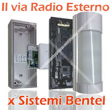Optex VXI-R + AMC30 - Sensore esterno Antifurto Bentel wireless 433 Kyo Absoluta