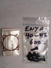 ENYA 40-45 BB 6002 GASKET & ALLEN HEAD SCREW SET NIP. REPLACE THOSE BAD PHILLIPS
