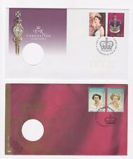 AUSTRALIAN STAMPED DUAL ENVELOPES ROYALTY QUEENS CORONATION - GREAT LOOKING!