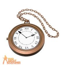 Jumbo Clock Medallion 1990s Rapper Bling Oversized Jewellery Fancy Dress