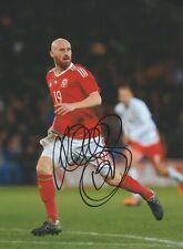 James Collins (Wales West Ham) Signed 8x6 Colour Photo