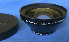 Olympus 0.8x wide conversion lens 55mm & 43mm thread