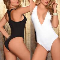 Women Bandage Bikini Set Monokini Push-up No Padded One-Piece Swimsuit Swimwear