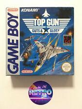 TOP GUN GUTS & GLORY GAMEBOY PAL ESP COMO NUEVO NEAR MINT