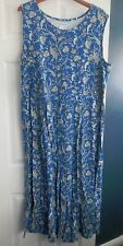 The Paragon Women's 1 X Parisian Scroll dress Sleeveless NEW!