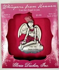 "Whispers From Heaven Angel "" I See the Angel in You"" Collectible Ornament"