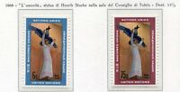 19081) UNITED NATIONS (New York) 1968 MNH** H. Starke Art