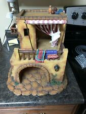 "Fontanini Home 5"" Retired Nativity Set Village 50523 Building Heirloom Rare"