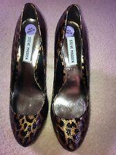 Magnifique Stiletto Léopard/Imprimé Animal Chaussures par Steve Madden Neuf Taille 6