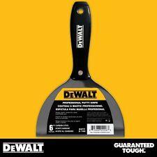 """DEWALT Putty Knife 6"""" Carbon Steel Joint Knife Flexible Paint Scraper"""