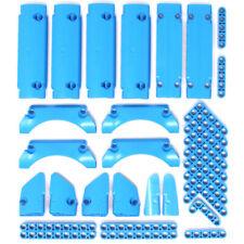 Lego 32x Genuine Technic Bright Blue (Dark Azur) Studless Beam Panel Fairing NEW