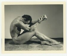 Bert Elliott Bodybuilder 1940s Bruce Of Los Angeles Gay Beefcake Physique Photo
