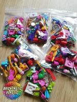LEGO - X30 QTY BRAND NEW FRIENDS MINIFIGURE ACCESSORIES PACK HUGE VARIETY GIRLS