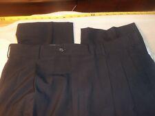 john alexander  34 x 26  pleated no cuffs no fabric tag #458