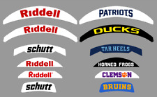 Custom Football Helmet Back Bumper Decal Full Size or Mini Size Create Your Own!
