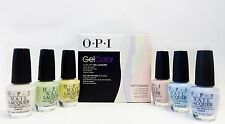 OPI Gel Color GelColor Soft Shades PASTEL Kit + 6 Matching Nail Polish ~12CT~