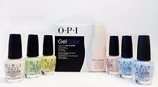 OPI Gel Color GelColor Soft Shades PASTEL Kit + 6 Matching Nail Polish ~12CT~