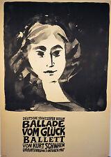 Plakatkunst, DDR, Theaterplakate