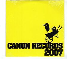 (GR875) Canon Records Sampler 2007, 10 tracks various artists - sealed DJ CD