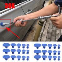 30x Car Glue Puller Tabs Body Paintless Dent Hail Repair Removal Tool Kits