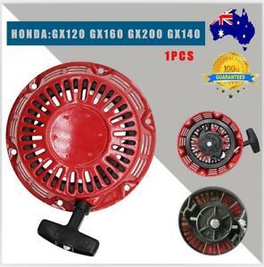 Recoil Pull Starter For Honda Mower GX160 GX120 GX140 5.5 6.5HP 6 hole Parts