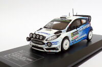 Ixo Diecast Club 1/43 Scale 4D010 - Ford Fiesta RS WRC - Sweden Rally 2015