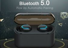 BT 5.0 Bluetooth headsets, Wireless, Q32 sports earbuds, for iPhone and Android