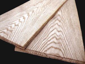 20 Blatt am. EICHE FURNIER Blatt echt Holz Dekor Design Platten Möbel Brett