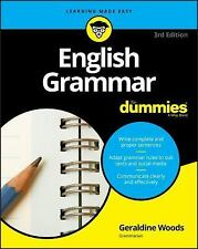 English Grammar for Dummies 3E by Geraldine Woods Paperback Book (English)
