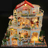 Hoomeda 13845 Be Enduring As The Universe, DIY Dollhouse Miniature, with music