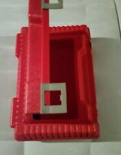 Lego Carrying Case Box Vintage 1984 Red Hard Plastic Travel Carrier Interlego