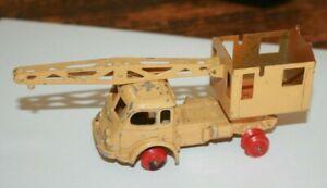 CIJ - Camion Grue - Miniature ancienne 1/43 ( a restaurer )