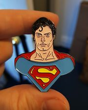 1978 Christopher Reeve Superman Retro Esmalte Pin