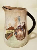 Vintage Capri by Royal Sealy Japan Wine Pitcher Sangria barware