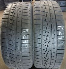 2x 215 55 16 93H  YOKOHAMA  W.DRIVE 4.5 & 5MM TREAD (NO PUNCTURE)