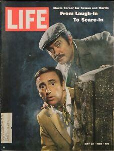LIFE May 23,1969 Rowan & Martin / Dillemma of Military Dissent / Sam Posey