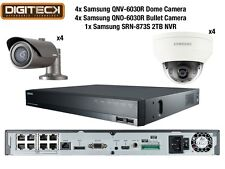 Samsung 2MP CCTV Security Package 8 Camera Full HD 1080p IP PoE + 2TB NVR Kit