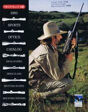 ORIGINAL Vintage 1993 Redfield Scopes and Mounts Catalog