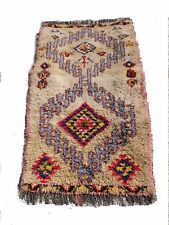 Vintage Moroccan Hand Woven by Berber Rug Azilal /Berber Carpets 5'7''/3'3''