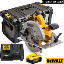 DEWALT DCS570N 18V Brushless segatrice a disco con 1 x 4.0Ah Batteria, Caricabatterie & Box